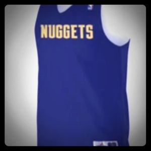 Denver Nuggets Reversable NBA Jersey New